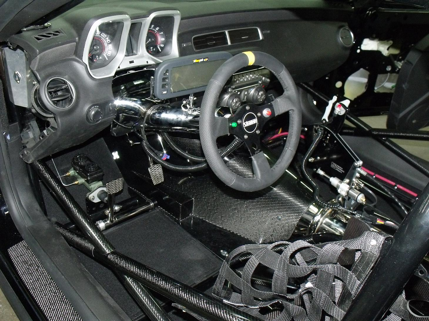 car feature b b builds 2010 camaro for hendrick motorsports dragzine. Black Bedroom Furniture Sets. Home Design Ideas