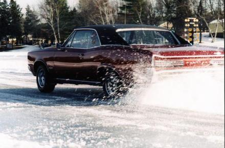 Old Man Winter Can't Put The Brakes On The Merrill Ice Drags