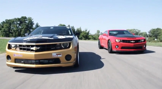 Video: 1LE Camaro Making Its Debut in SCCA T2 Competition