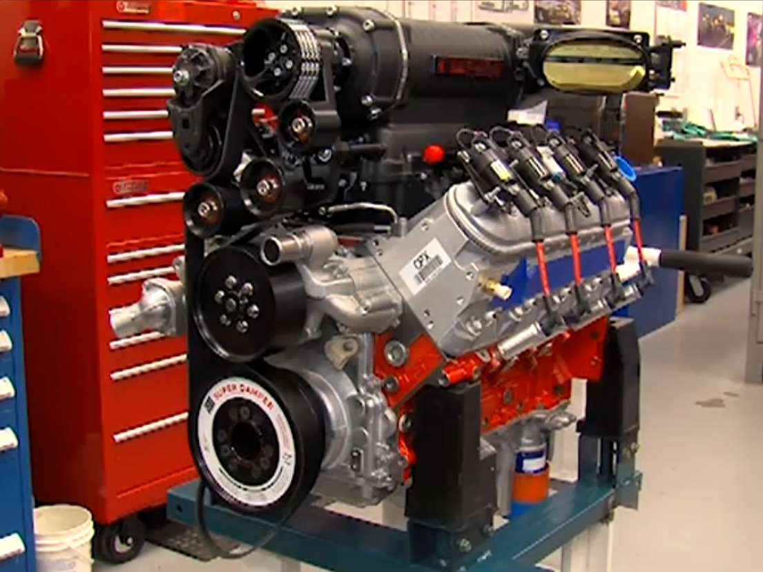 Video: Building and Testing COPO No. 69's Supercharged 327 LSX