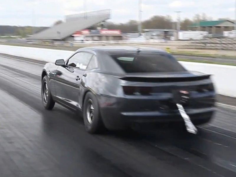 Video: Boosted Camaro Sets New IRS 5th Gen Quarter Mile Record