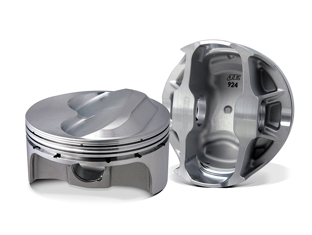 JE Pistons Hollow Dome Pistons For Your High Compression Small Block