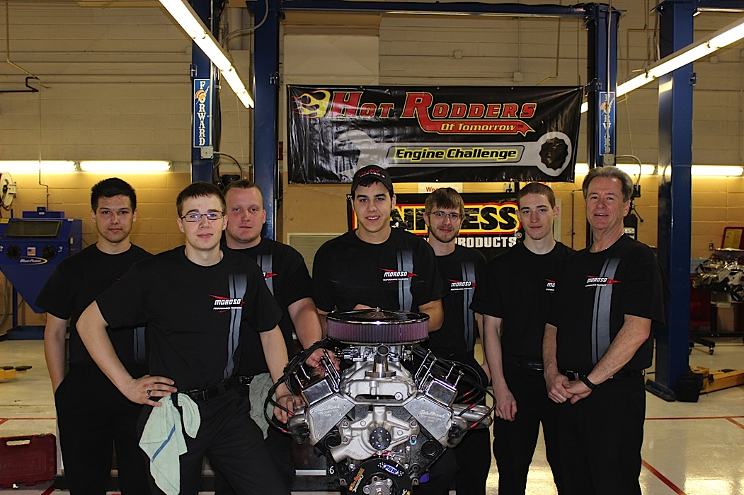 Team Moroso Joins Hot Rodders of Tomorrow Engine Challenge Finals