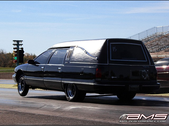 Video: 9-Second Hearse Could Bring Out the Living Dead