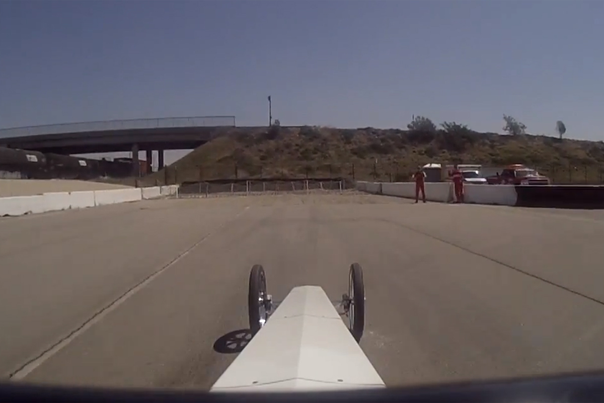 Video: Jalopnik Goes To School; Nearly Wrecks Hawley's Dragster