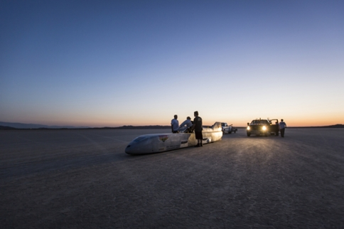 Danny Thompson Tops 317 MPH In First Test Of Historic Challenger II