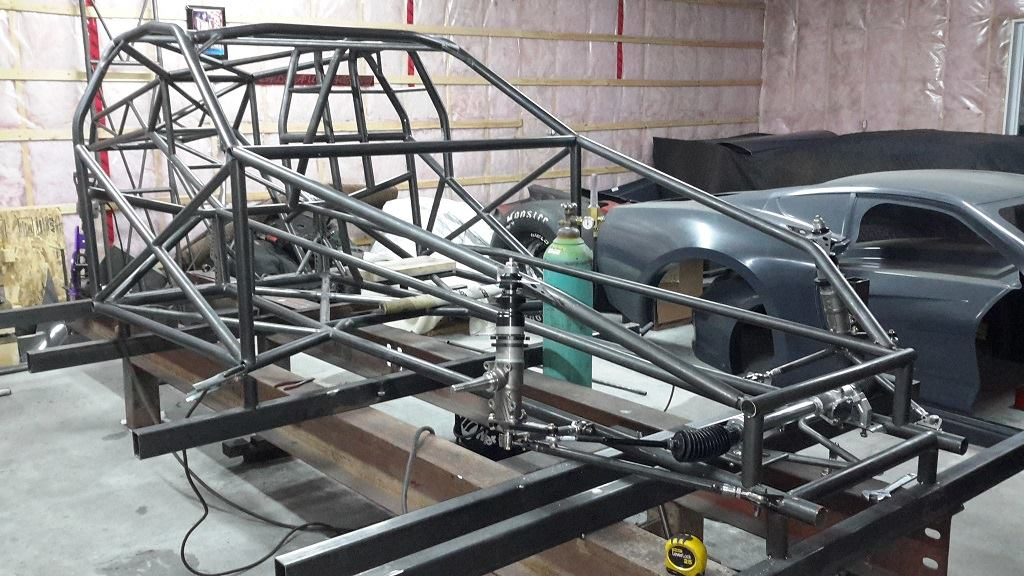 World Class On A Budget Tmrc S Doorslammer Chassis Kits