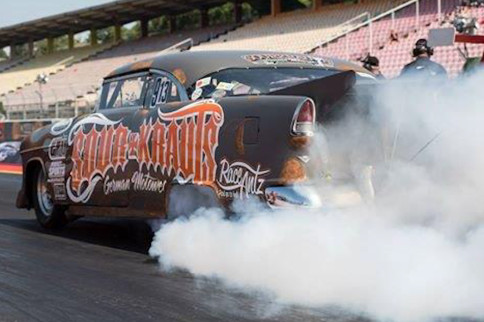 VIDEO: Racing a '55 Chevy Bel Air In Germany
