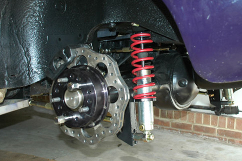 Project True SStreet: Choosing Coilover Springs For The Rear