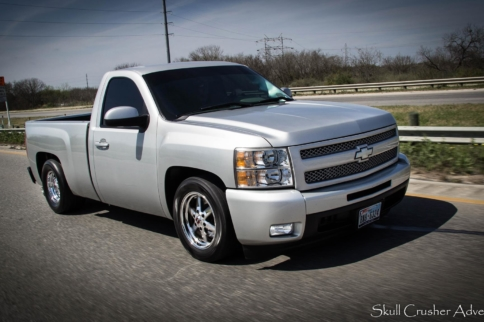 Video: Knocking On The 11s In a Smooth Turbo LS-Powered Silverado
