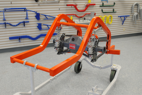 Traction in Action: Chassisworks Drag Race Rear Suspension