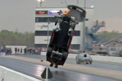 Video Daniel Pharris' Wild, High-Flying Crash At Tulsa!