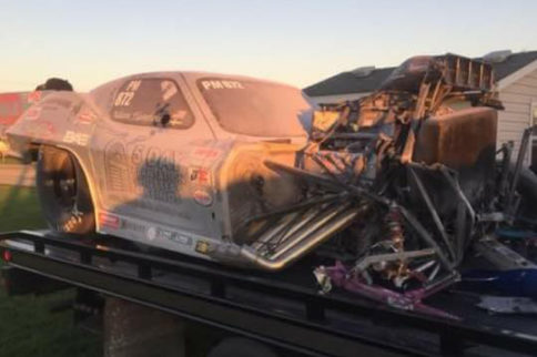 Video: Pro Mod Racer Adam Flamholc's Head-On Crash At Route 66