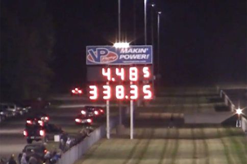 Dom Lagana Goes 1/4-Mile, Clocks Fastest Top Fuel Speed Ever