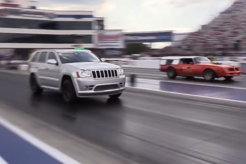 Video: Street Outlaws Star AZN Shows Off His New Boosted SRT8 Jeep