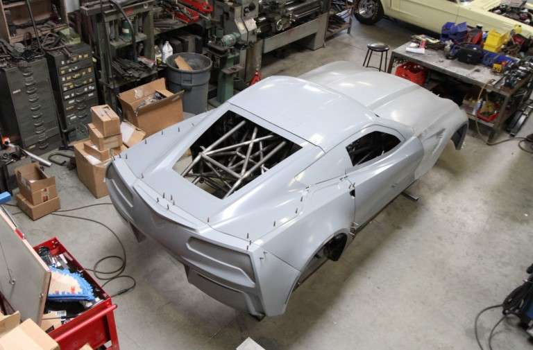 BlownZ06: Chassis Build Part 1 With PMR Race Cars & Quarter-Max
