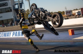 Motorcycle Racer James Stevens' Wild Backflipping Ride In Tulsa