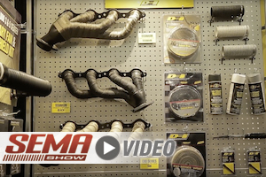 SEMA 2017: DEI Header Heat Wraps Reduce Underhood Temps