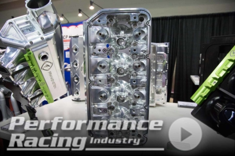 PRI 2017: Frankenstein Engine Dynamics New P48 Evolution Hemi Heads