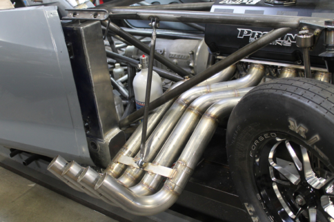 Project BlownZ06 Gets Some Breathing Room with Burns Custom Headers