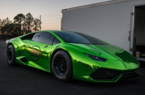 The Worlds First True Drag Race-Specific Lamborghini Huracan