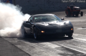 Blown C5 Z06 Runs 9s With A Manual Transmission!