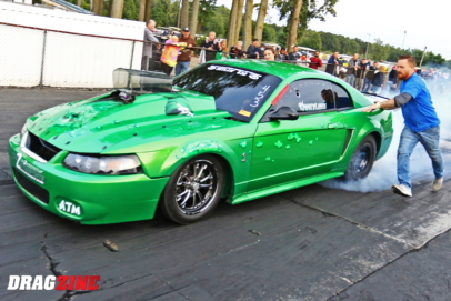 Chad Anselmi's Outlaw 632 Ford Mustang Keeps Him Moving Forward