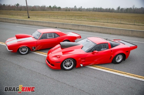 Double Trouble: Justin Curry's No Time Corvette And X275 Camaro