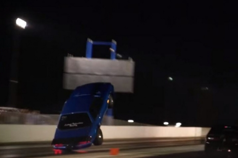 Video: Grudge Car Takes Flight With Crazy 300-Foot Wheelstand!
