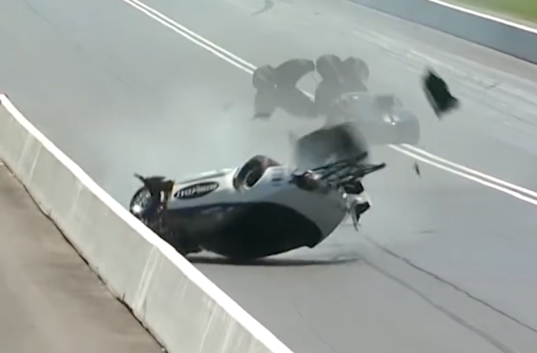 Video: Pro Mod Racer Chad Green's Topsy-Turvy Ride In Bristol